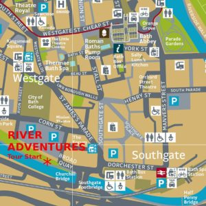 Boat & Walking Tours Location Map